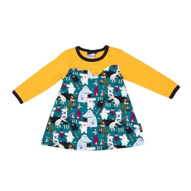 Muumi tunika-mekko Ilo - Huigee Organics Oy 8256a8d2a2