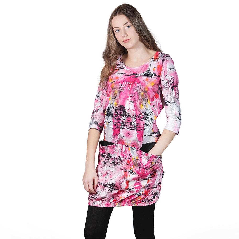 premium selection 02e20 ef4a2 Muumi naisten mekko-tunika Meriseikkailu, pinkki