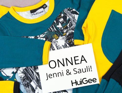 Onnea Jenni & Sauli!