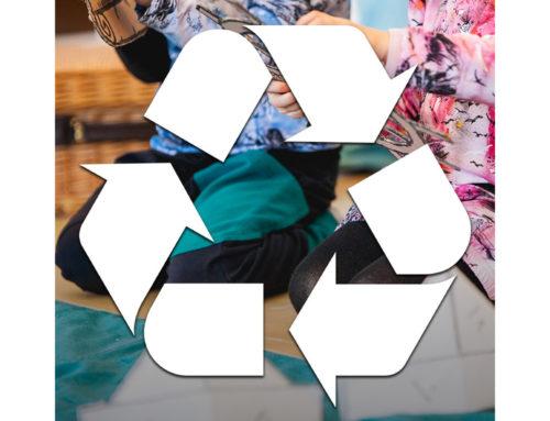 Anna vaatteelle pitkä elämä – Kierrätä!
