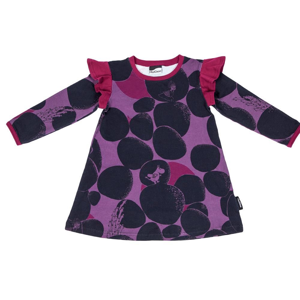 Muumi lasten mekko-tunika Rock - Huigee Organics Oy b39020a83f